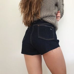 rag & bone high-rise shorts